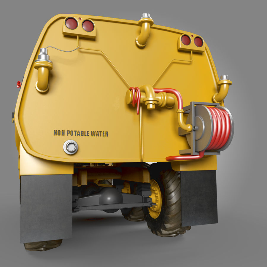 Petroleiro Articulado royalty-free 3d model - Preview no. 5