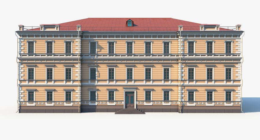 模块化建筑 royalty-free 3d model - Preview no. 6