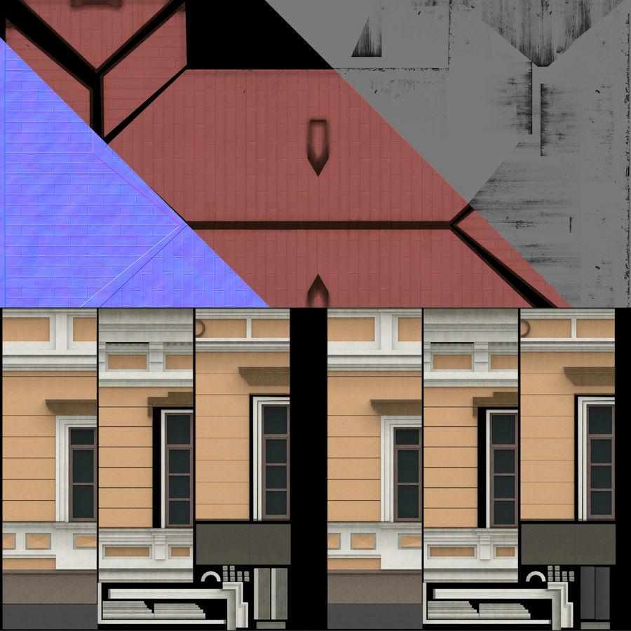 模块化建筑 royalty-free 3d model - Preview no. 14