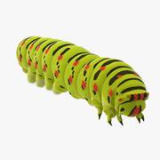 Caterpillar Walking 3d model