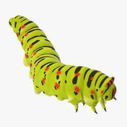 Caterpillar Climbing Down 3d model