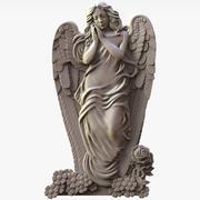 Angel Sculpture voor CNC 3d model