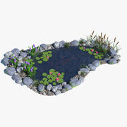 Ogród wodny 3d model