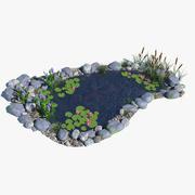 Giardino acquatico 3d model