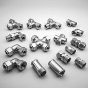 Pipe Fittings Collection 3d model