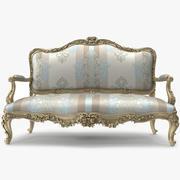 Sofá de luxo _ 029 3d model
