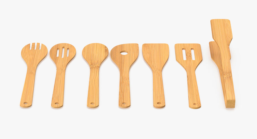 調理器具セット royalty-free 3d model - Preview no. 18