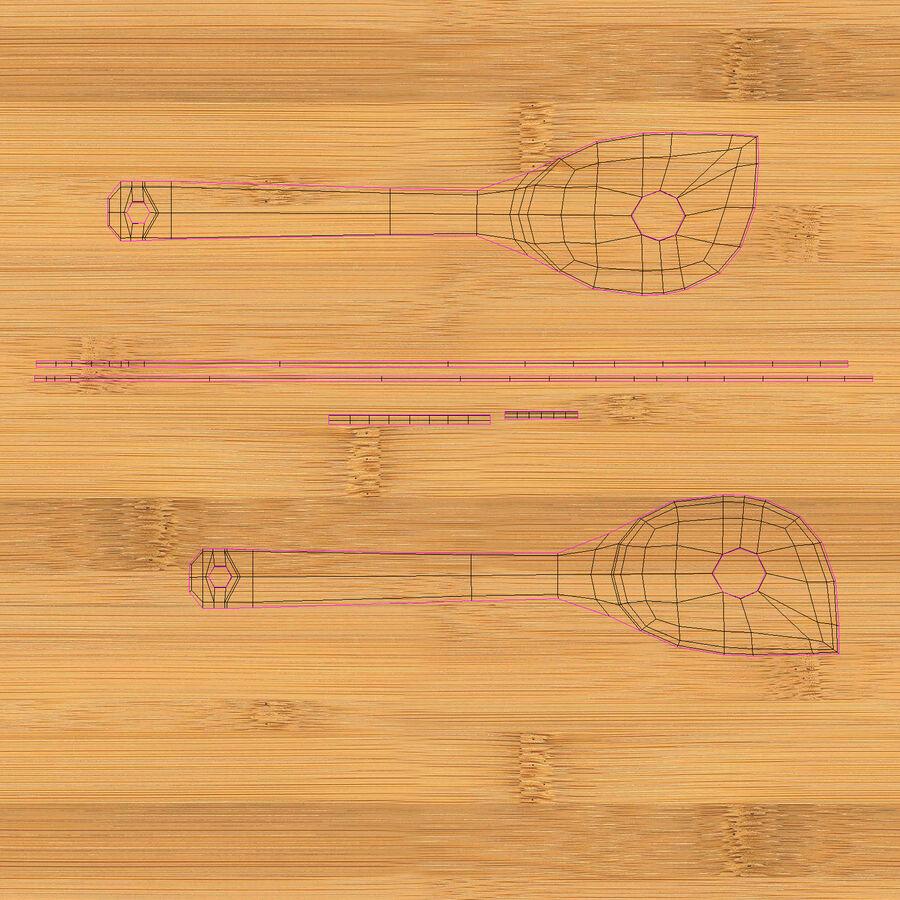 調理器具セット royalty-free 3d model - Preview no. 38