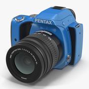 Pentax K-S1 Blue 3D-modell 3d model