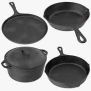 Cast Iron Collection 3d model