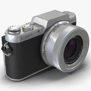Panasonic Lumix DMC-GF7 3D Model 3d model