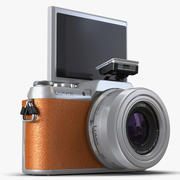Panasonic DMC GF7 Rigged Brown 3D Model 3d model