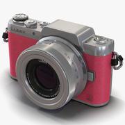 Panasonic DMC GF7 Pink 3D Model 3d model