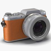 Panasonic DMC GF7 Brown 3D Model 3d model