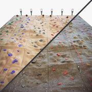 등반 벽 3d model