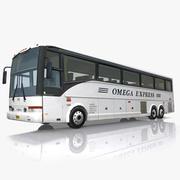 Autobús Van Hool en tiempo real modelo 3d