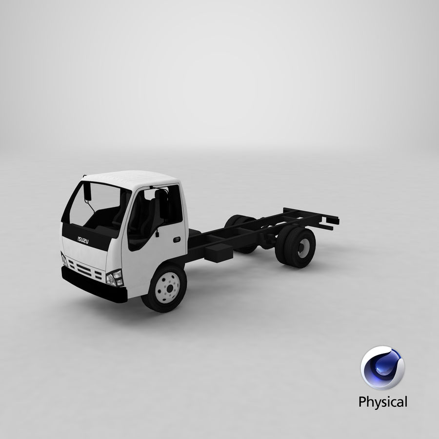 Isuzu NQR 75 royalty-free 3d model - Preview no. 24