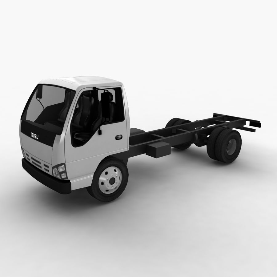 Isuzu NQR 75 royalty-free 3d model - Preview no. 2