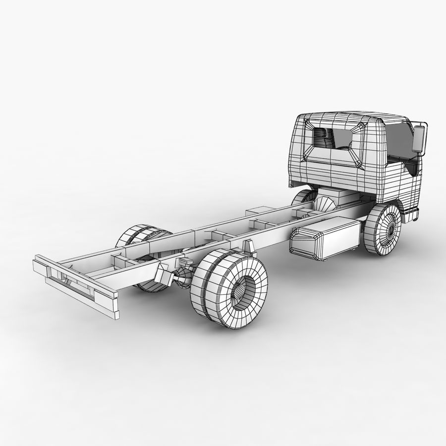 Isuzu NQR 75 royalty-free 3d model - Preview no. 13