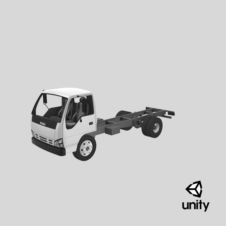 Isuzu NQR 75 royalty-free 3d model - Preview no. 23