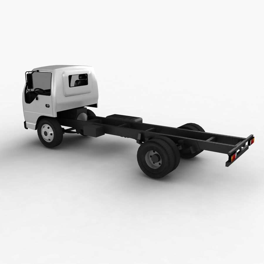 Isuzu NQR 75 royalty-free 3d model - Preview no. 8