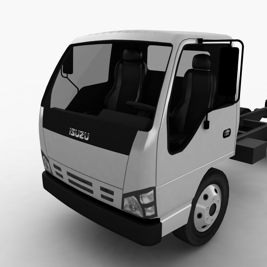 Isuzu NQR 75 royalty-free 3d model - Preview no. 9