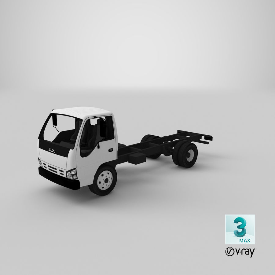 Isuzu NQR 75 royalty-free 3d model - Preview no. 20