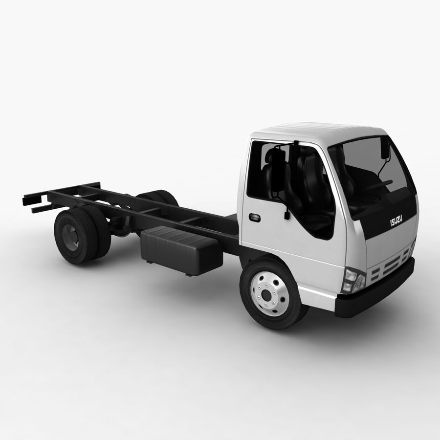 Isuzu NQR 75 royalty-free 3d model - Preview no. 6