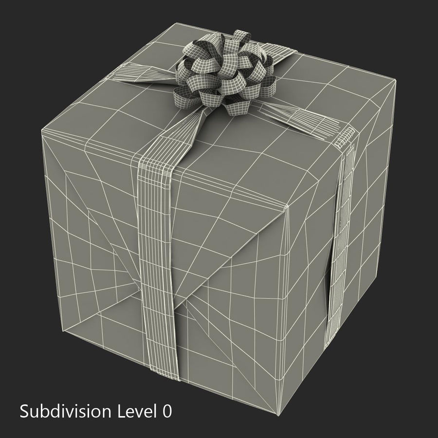Geschenkboxen-Auflistung royalty-free 3d model - Preview no. 43