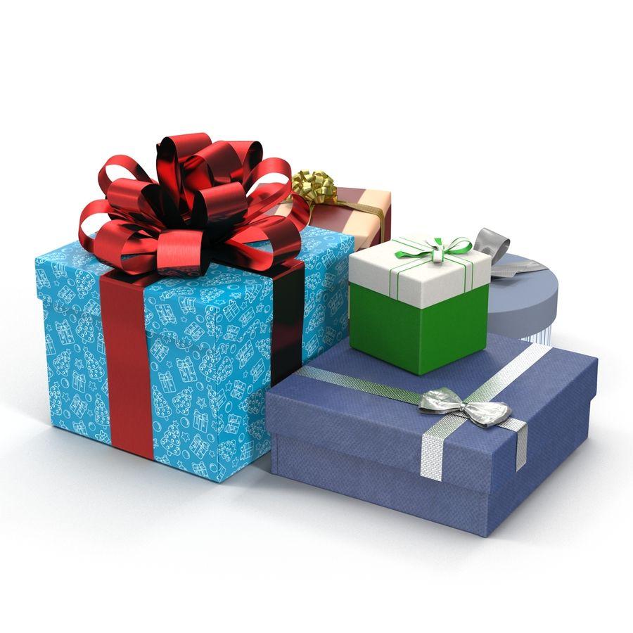 Geschenkboxen-Auflistung royalty-free 3d model - Preview no. 6