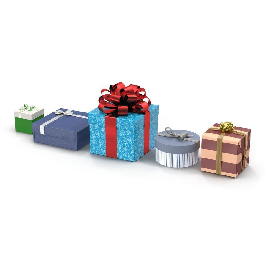 Geschenkboxen-Auflistung royalty-free 3d model - Preview no. 3