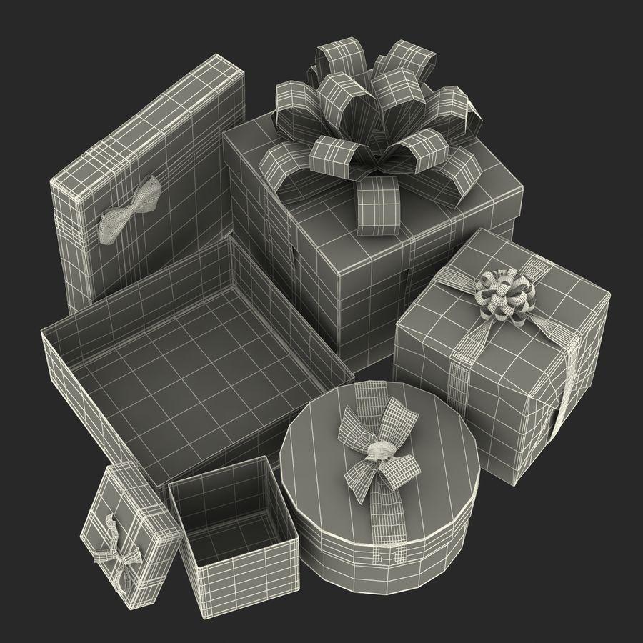 Geschenkboxen-Auflistung royalty-free 3d model - Preview no. 61