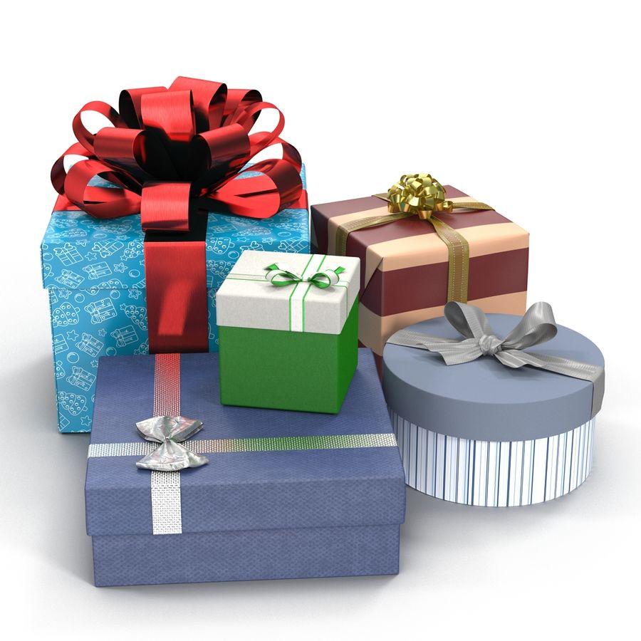 Geschenkboxen-Auflistung royalty-free 3d model - Preview no. 7