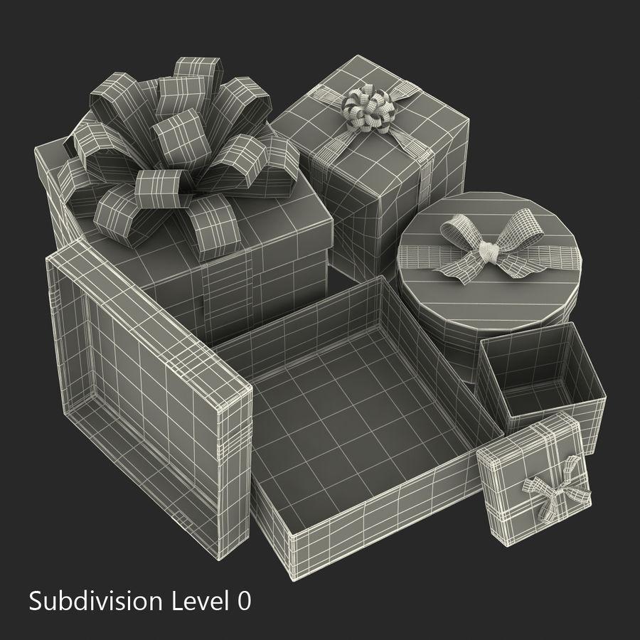 Geschenkboxen-Auflistung royalty-free 3d model - Preview no. 41