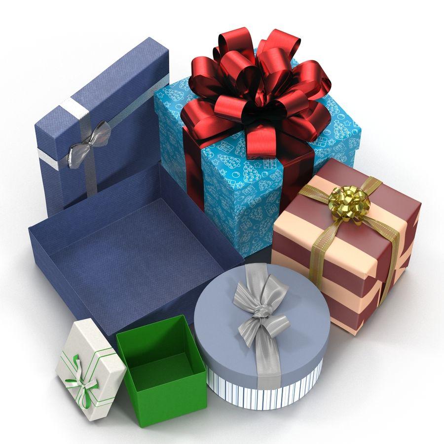 Geschenkboxen-Auflistung royalty-free 3d model - Preview no. 9