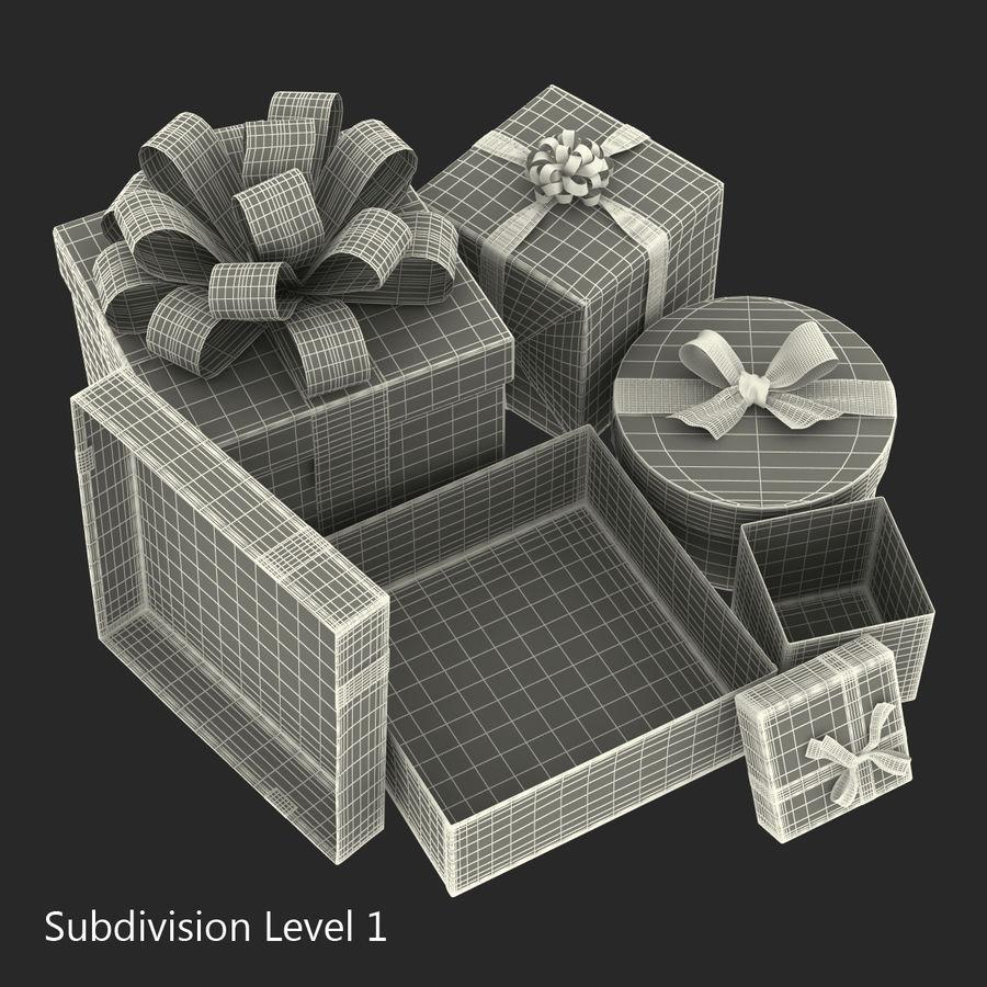 Geschenkboxen-Auflistung royalty-free 3d model - Preview no. 42
