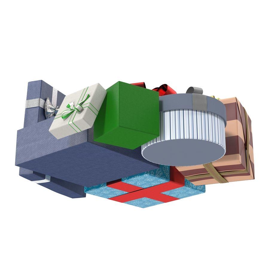 Geschenkboxen-Auflistung royalty-free 3d model - Preview no. 11