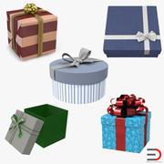 Geschenkboxen-Auflistung 3d model