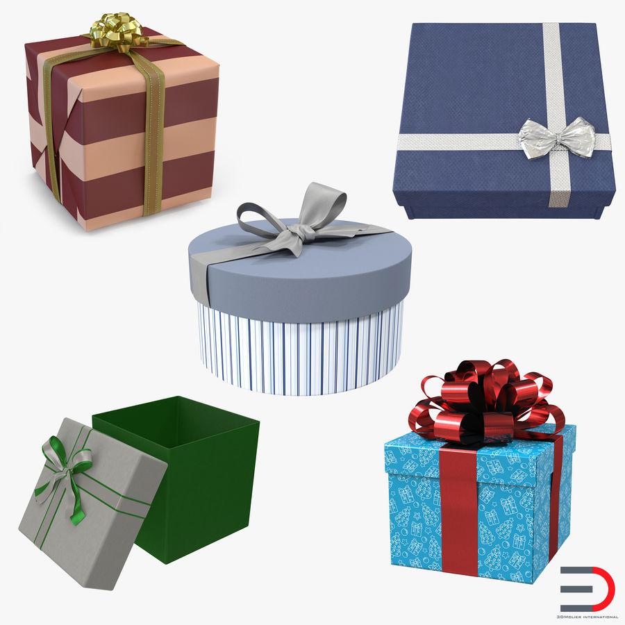 Geschenkboxen-Auflistung royalty-free 3d model - Preview no. 1