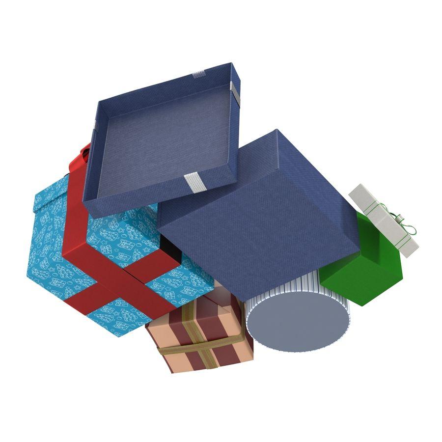 Geschenkboxen-Auflistung royalty-free 3d model - Preview no. 12