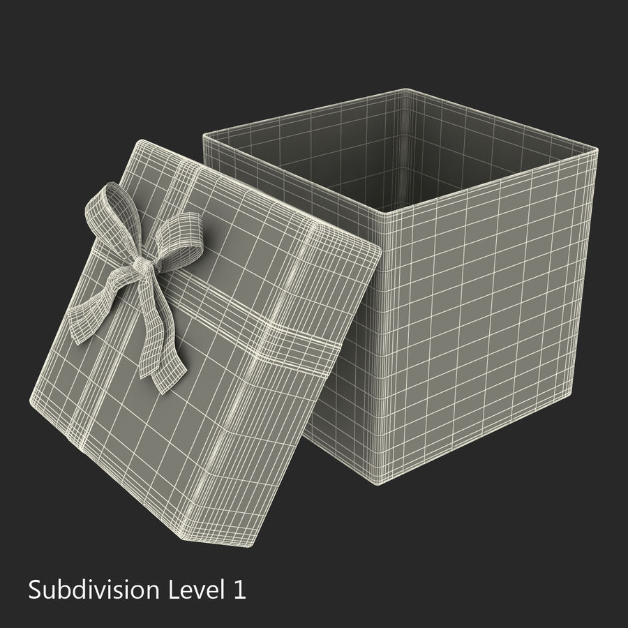 Geschenkboxen-Auflistung royalty-free 3d model - Preview no. 46