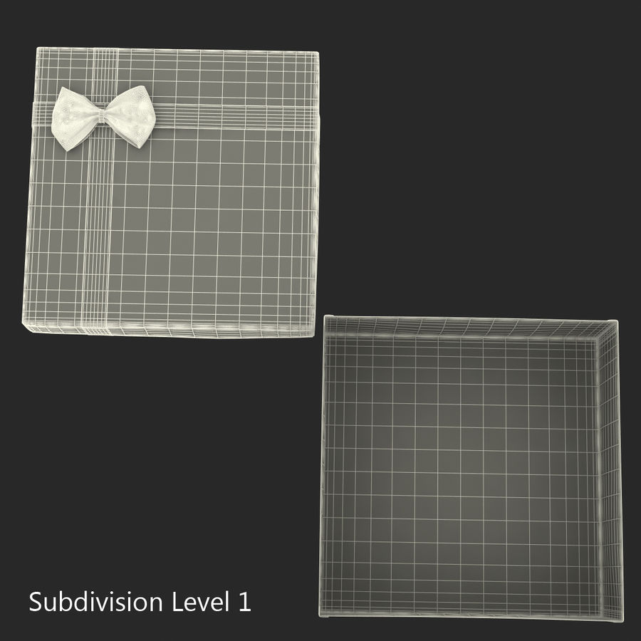 Geschenkboxen-Auflistung royalty-free 3d model - Preview no. 48