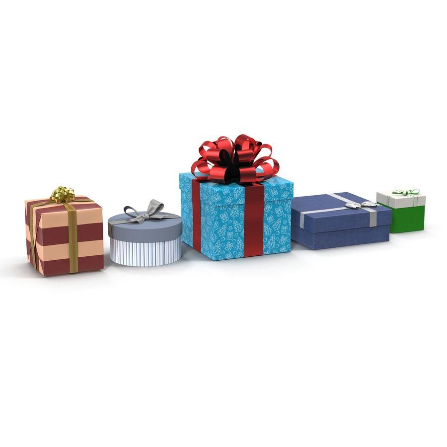 Geschenkboxen-Auflistung royalty-free 3d model - Preview no. 2