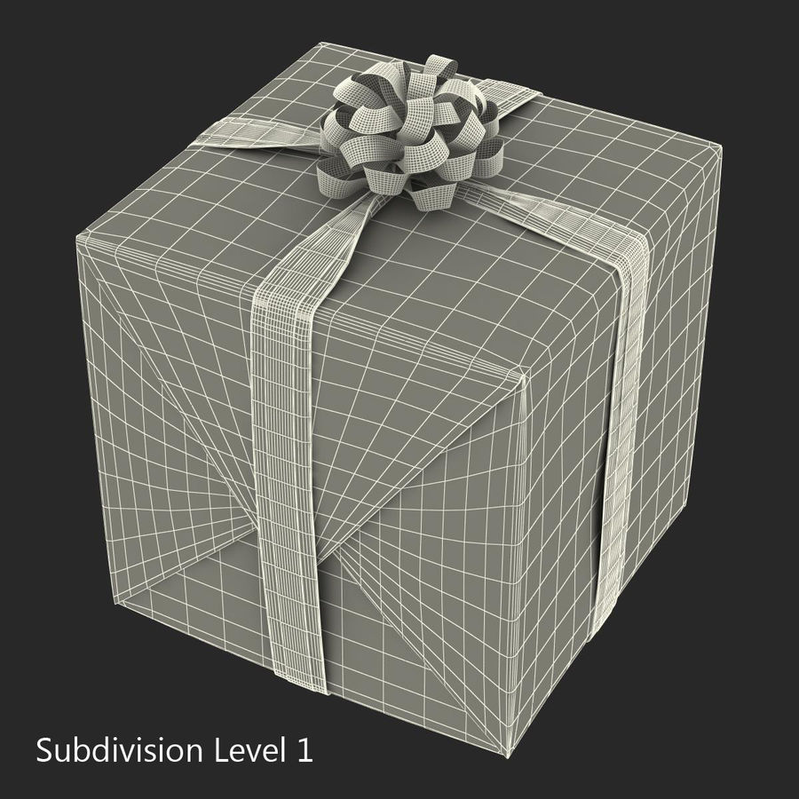 Geschenkboxen-Auflistung royalty-free 3d model - Preview no. 44