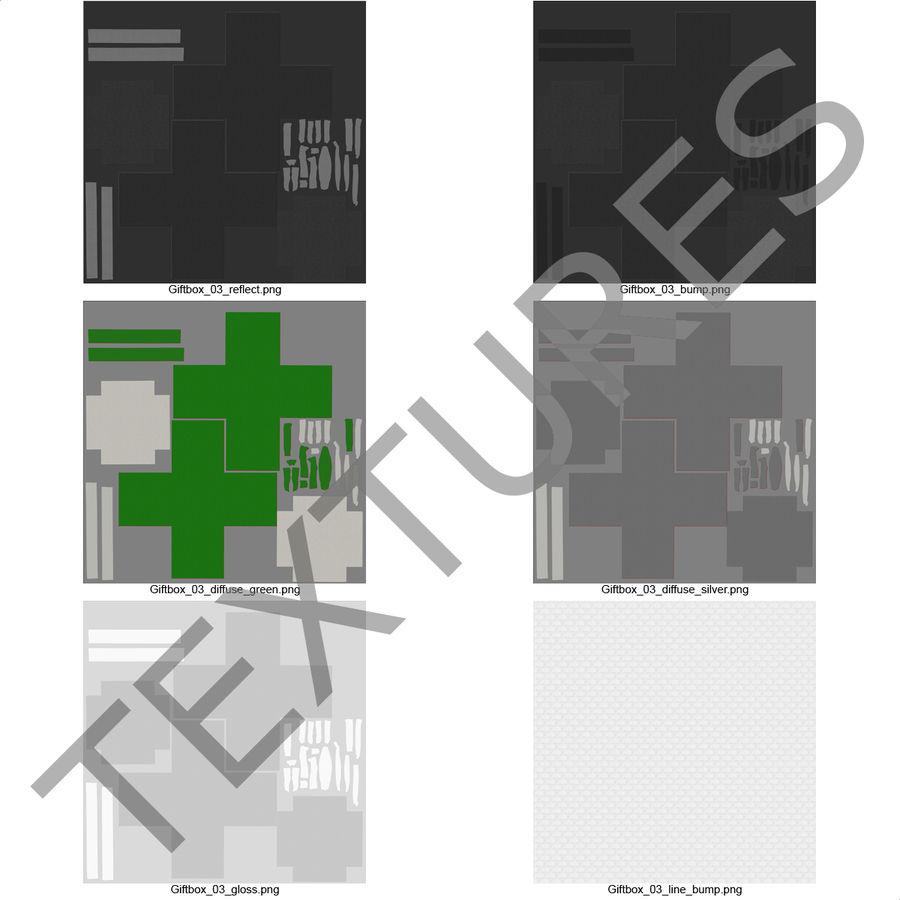 Geschenkboxen-Auflistung royalty-free 3d model - Preview no. 57