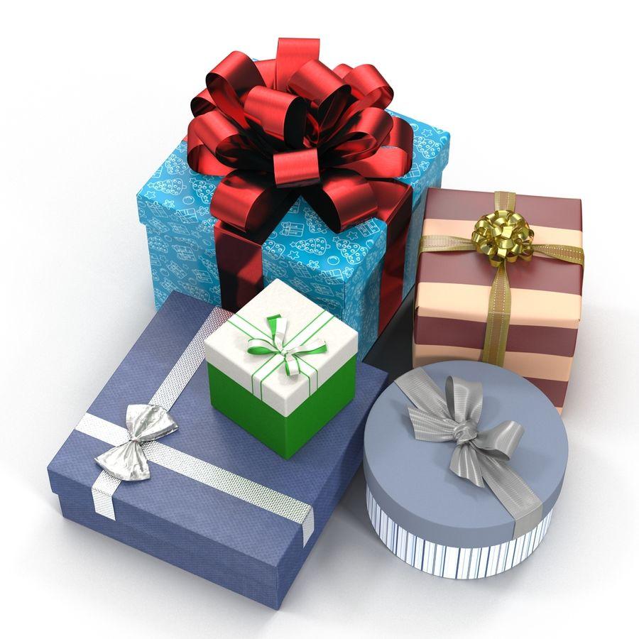Geschenkboxen-Auflistung royalty-free 3d model - Preview no. 8