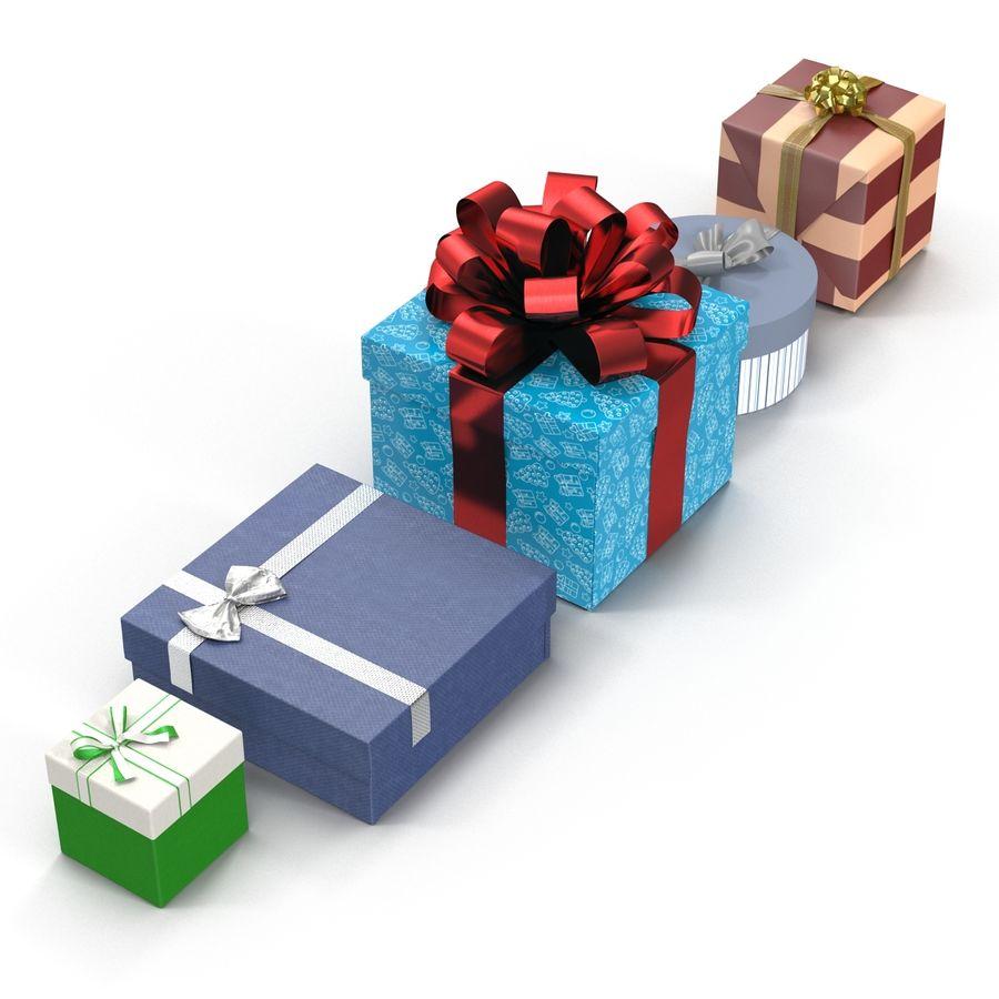 Geschenkboxen-Auflistung royalty-free 3d model - Preview no. 4