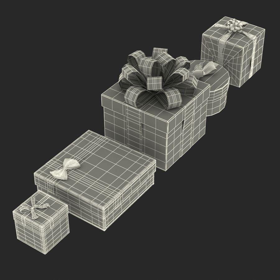 Geschenkboxen-Auflistung royalty-free 3d model - Preview no. 59