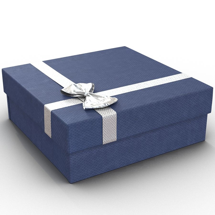 Geschenkboxen-Auflistung royalty-free 3d model - Preview no. 27
