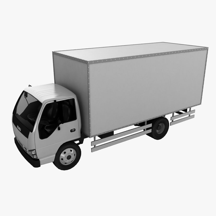 Isuzu Truck royalty-free 3d model - Preview no. 1